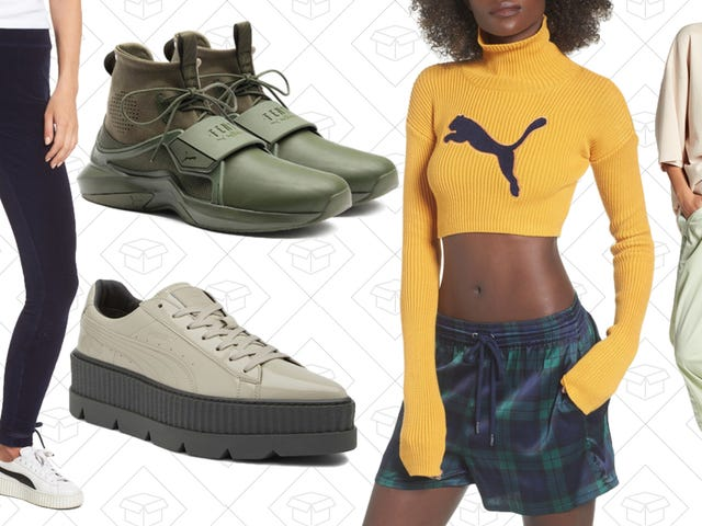 Pick Up Tons of Fenty by PUMA Styles from Nordstrom Rack