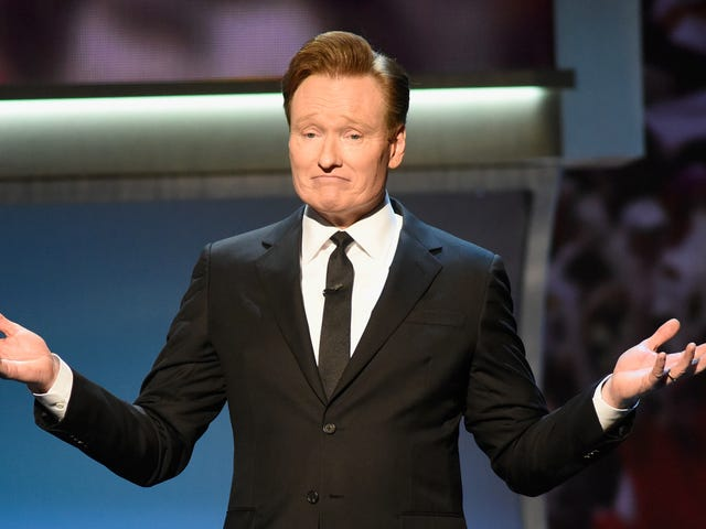 """America's funnyman Conan O'Brien here to remind us that """"all our graves go unattended"""""""