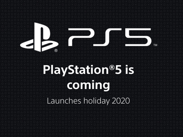 Sony has launched the PS5's official webpage, and it's short on new details