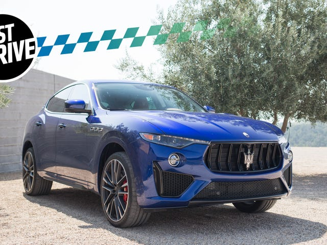 2019 Maserati Levante Trofeo: It Has A 590 HP Ferrari V8, As Should All SUVs