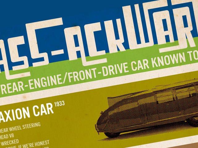 Dette diagrammet viser hver bil med den verste, rareste utformingen i automatisk design