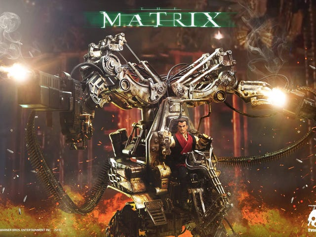 Despite the Movie, This Mech From The Matrix Revolutions Is Marvelous