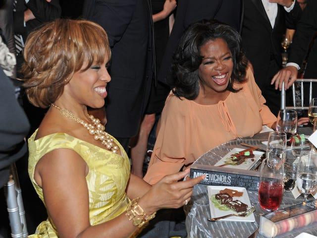 等等,Gayle King是否承认Oprah熏杂草?