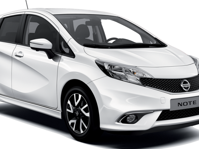 I have a Nissan Note for the day
