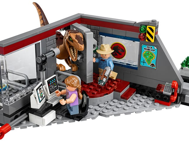 Lego Has Finally Given Me the Jurassic Park Lego Set I Wanted 25 Years Ago