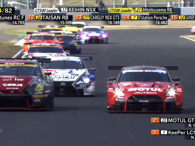 You Really Need To Be Watching Japan's Awesome Super GT Series
