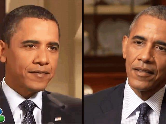 Barack Obama se conseille dans une courte vidéo qui rend 2016 encore plus pénible