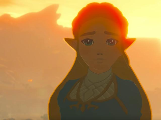 Låt oss prata om prinsessan Zeldas nya utseende