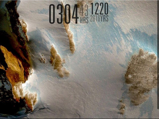 The Antarctic Landscape Desktop