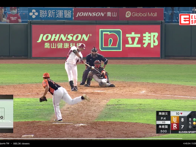 Eu assisti ao vivo o beisebol de Taiwan hoje. Cara, foi divertido