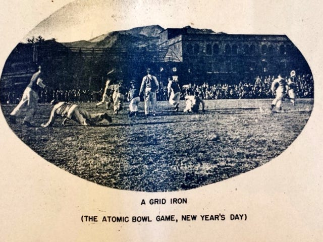 Americans Played Football in the Nuked Remains of Nagasaki For the 'Atom Bowl' in 1946