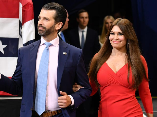 Kimberly Guilfoyle Is Officially Donald Trump Jr.'s Attack Dog