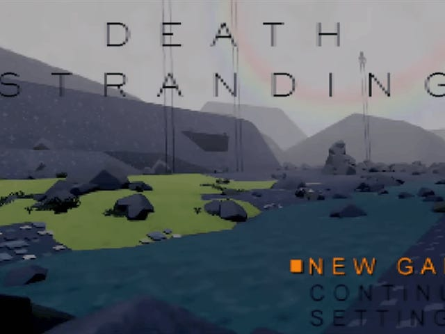 Death Stranding Looks Great As A PS1 Game