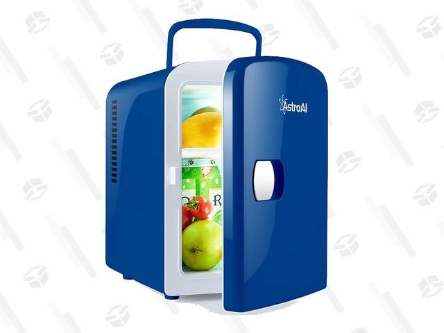 Este mini refrigerador portátil de $ 36 contiene bebidas, medicamentos y más