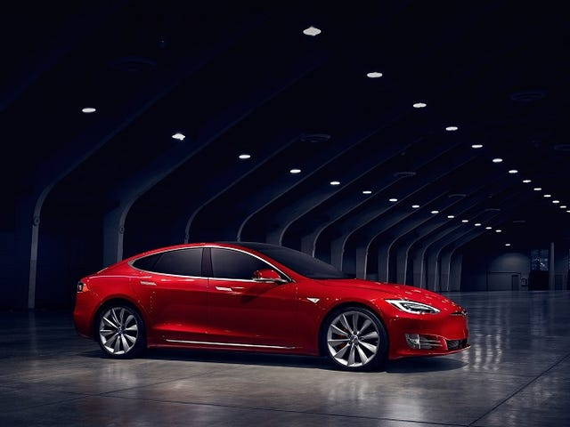 Here's The New Battery Pack Option For The Tesla Model S