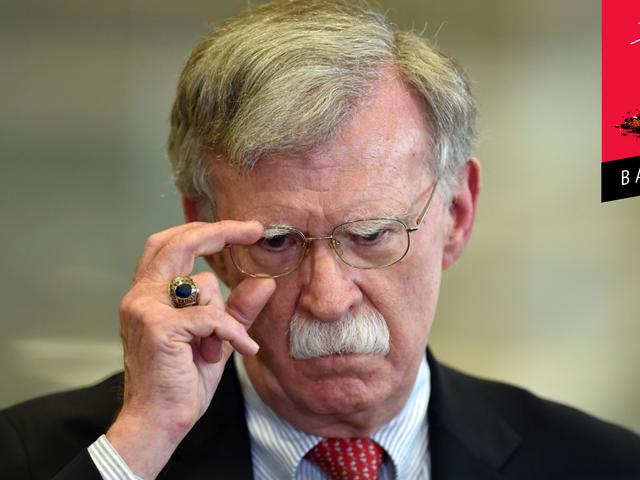 John Bolton går verkligen ut på sin bokturné