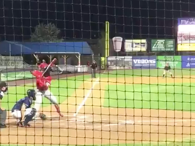 Vlad Guerrero Jr. Smacked A Long Dinger And That's Not Even The Best Part Of The Video