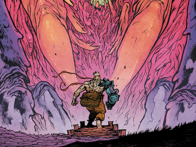 Murder Falcon #4 transforms sorrow into breathtaking musical spectacle