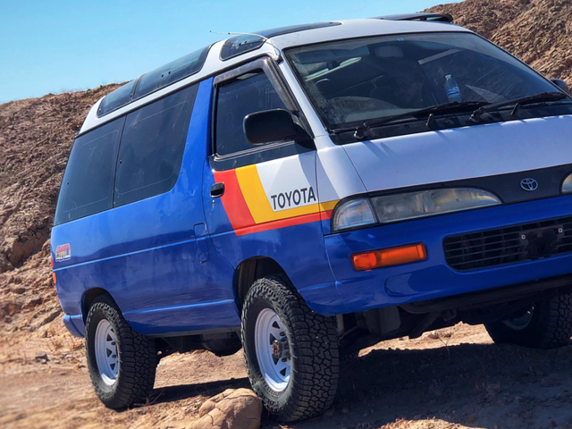 Here's The Vehicle You Should Use In All Of Your Automotive Daydreams Today: A Toyota LiteAce 4x4