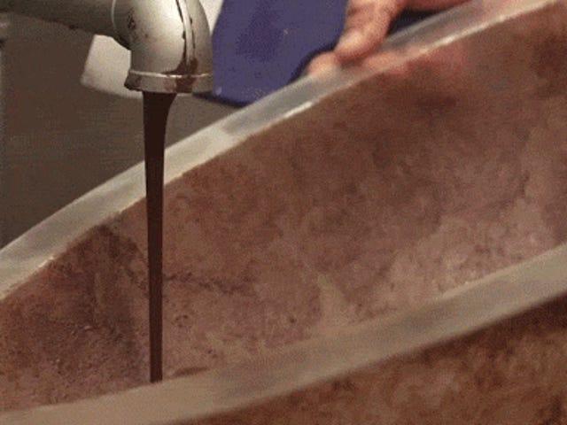 Gülünç dev çikolata Paskalya yumurtaları nasıl yapılır