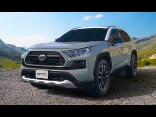 New RAV4 - Little details that no one likely cares about