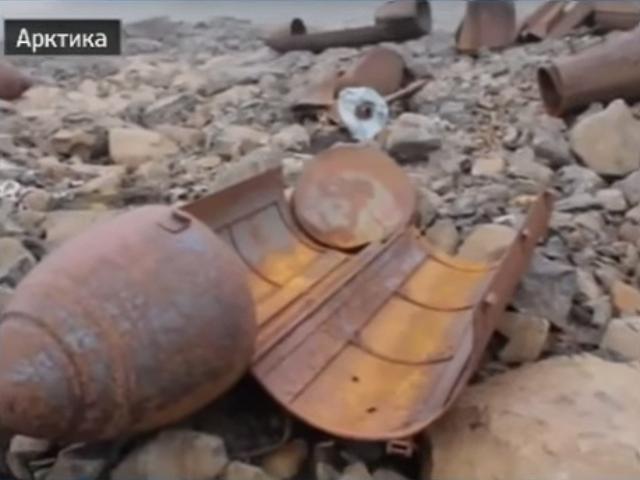 Russians Discover Secret Abandoned Arctic Nazi Base