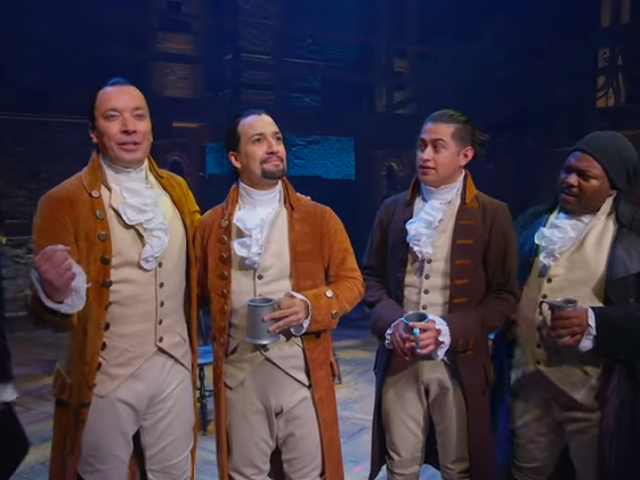 Jimmy Fallon gets to play Hamilton in Puerto Rico, but at least it's for a good cause