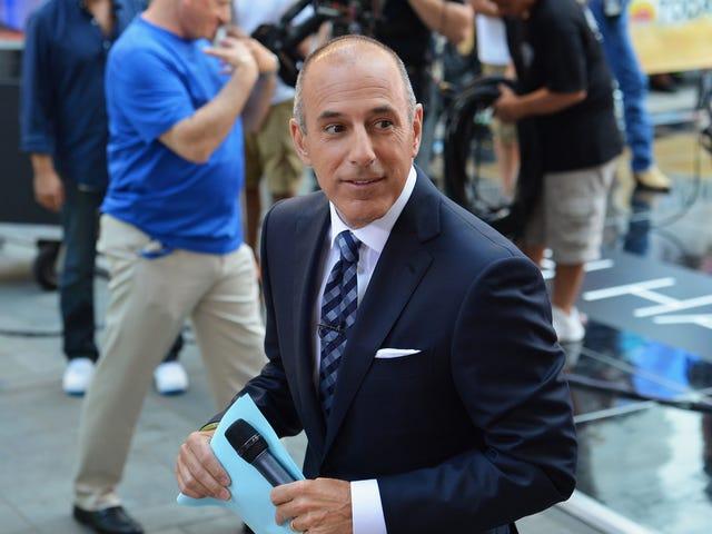 Qui l'enfer de NBC a approuvé le donjon sexuel en cabinet de Matt Lauer?