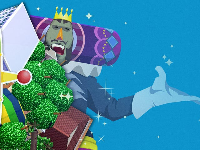 The Katamari games helped me roll with my clinical anxiety