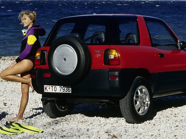 Kompakte Cabriolet SUV'er fra '90'erne: En Retrospectiv <em></em>