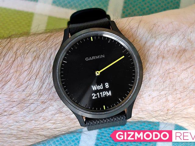 Garmin a fait une grande montre intelligente pour les personnes qui déteste porter un Smartwatch
