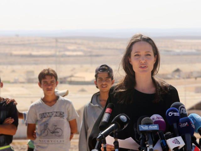 <i>Vanity Fair</i> Stands af dens beskrivelse af Angelina Jolie&#39;s Audition Process, udgiver Interview Transcript