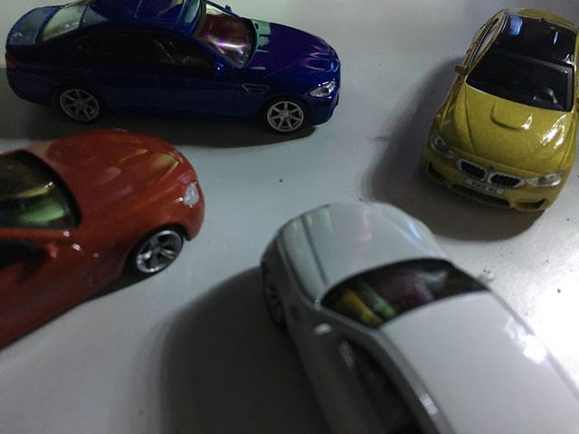 1/64 BMW M Car Collection