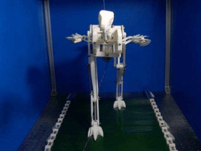 Running Dinosaur Robot Reveals a Possible Way Dinos May Have Evolved Flight