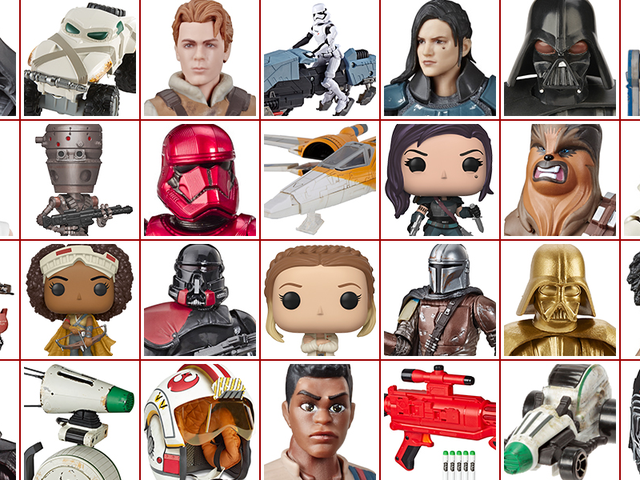 All the Glorious New Star Wars: The Rise of Skywalker Toys (och mer) avslöjade för Force Friday