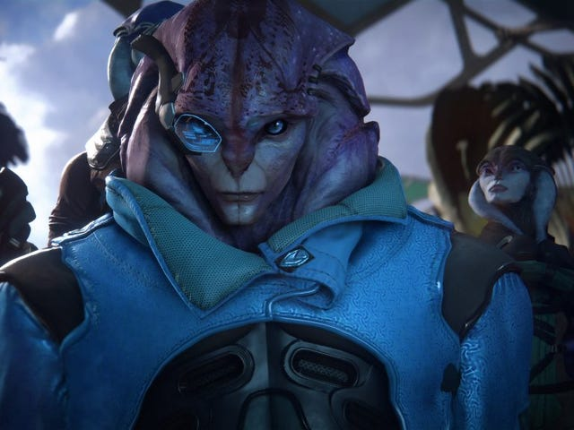 The Next Mass Effect Andromeda Patch Will Let Male Characters Romance Jaal