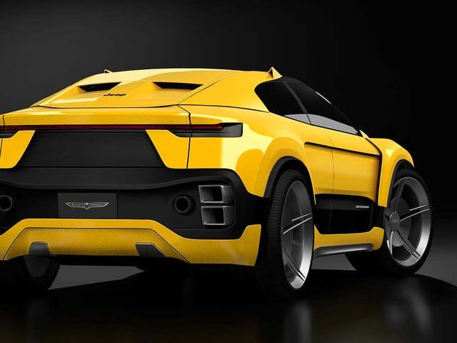 ฉันรักความคิดที่แปลกประหลาดนี้สำหรับรถจี๊ป Supercar SUV Coupe