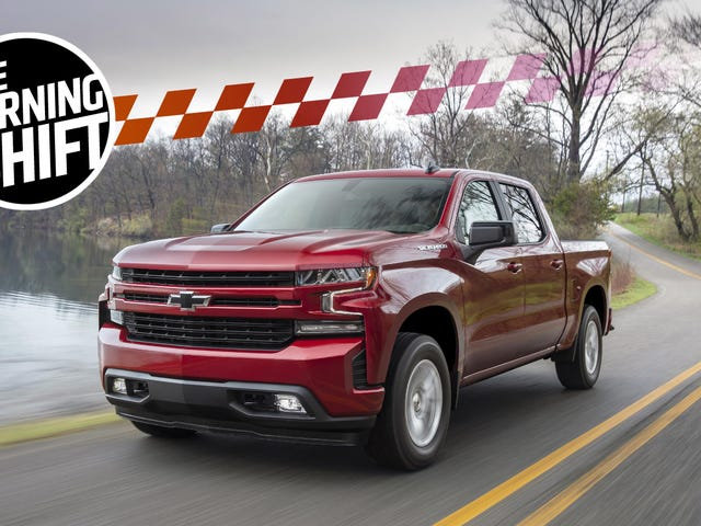 GM's Going To Four Cylinders In Full-Size Pickups As Fuel Economy War Ramps Up