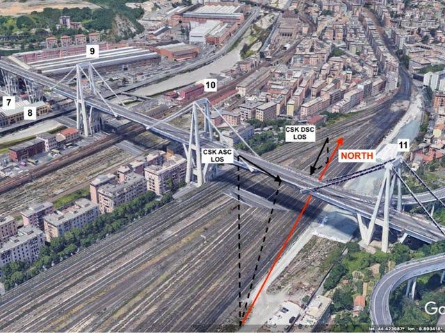 Зібрання супутників тепер можна використовувати для прогнозування коли мости можуть згорнути