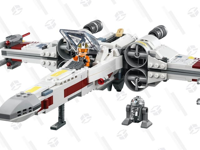 Do a Trench Run With This X-Wing LEGO Set, Now Down To Its Black Friday Price