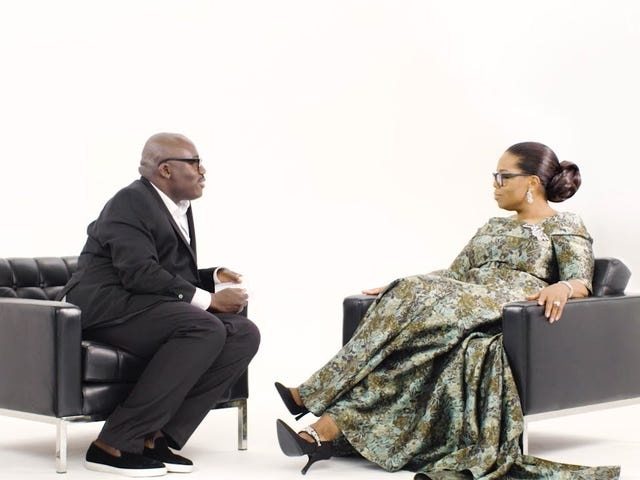 दुनिया के सबसे प्रसिद्ध साक्षात्कारकर्ता का साक्षात्कार: वोग यूके की एडवर्ड एनिनफुल वार्ता ओपरा के साथ
