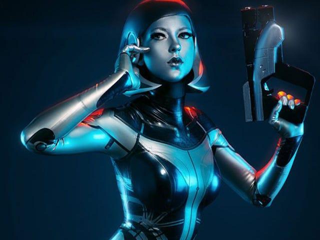 Cosplay <i>Mass Effect</i> là gần như hoàn hảo