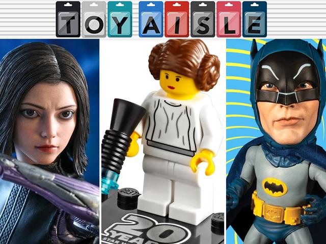 Giant Eyes, Giant Heads og 20 års Lego <i>Star Wars</i> er de største legetøj i ugen