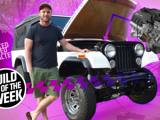 This Chrysler Engineer Is Shoving A 485 Horsepower Hemi V8 Into A Jeep Scrambler