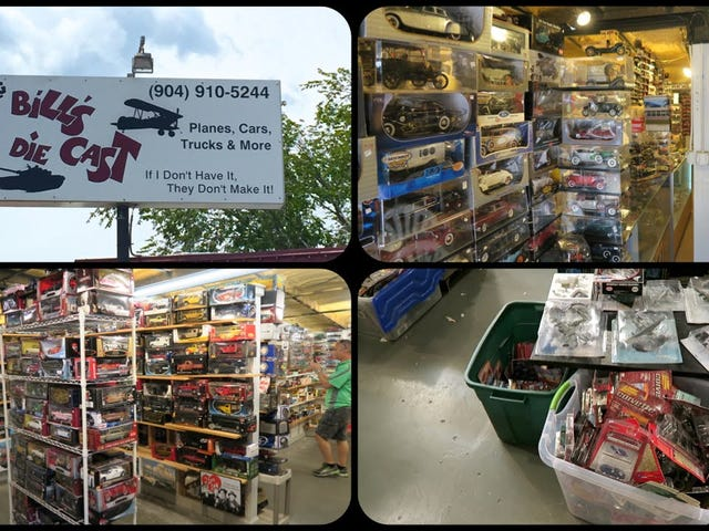 Video Vlog: On The Hunt, Big Bill's Diecast St. Augustine Florida.