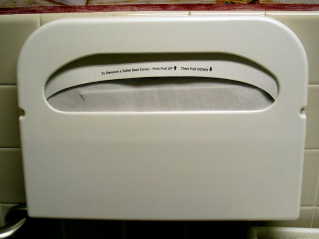 您正在使用该纸座厕盖错误