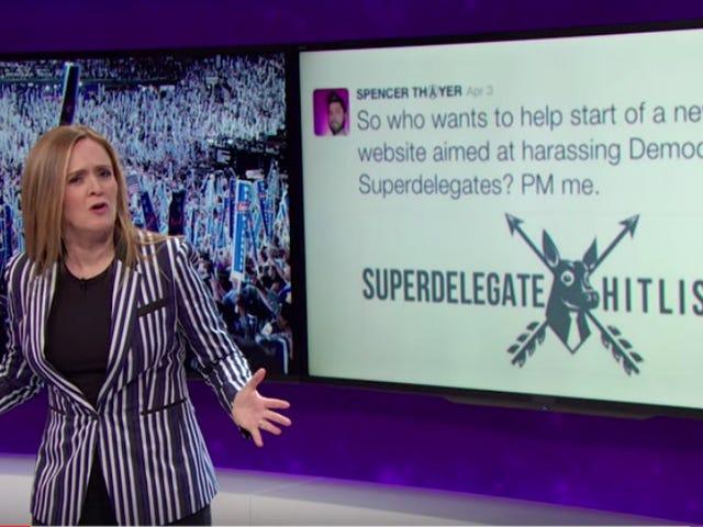 """Un sostenitore di Sanders ha creato una """"Hitlist superdelegata"""".  Crederai assolutamente in quello che è successo dopo"""