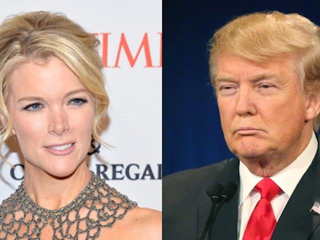 Etter Donald Trump gikk Crazy Calling Megyn Kelly Crazy, gjorde Fox News noe annet