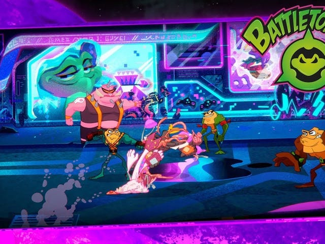 The new Battletoads is going to have plenty of side-scrolling scrapping