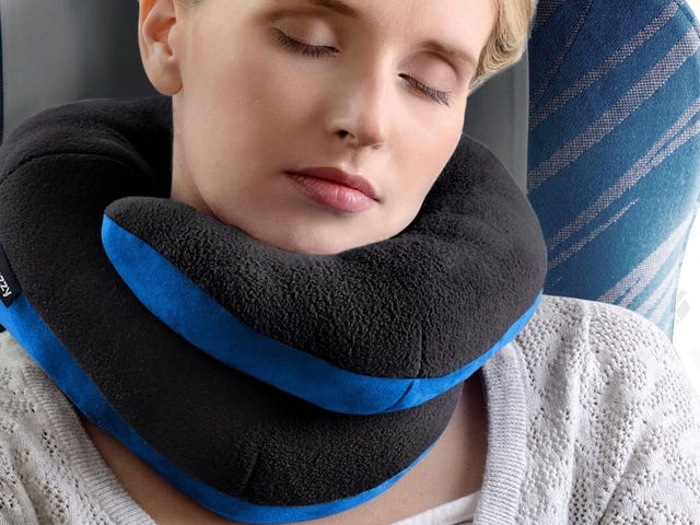Save 20% On a Travel Pillow That Actually Supports Your Chin